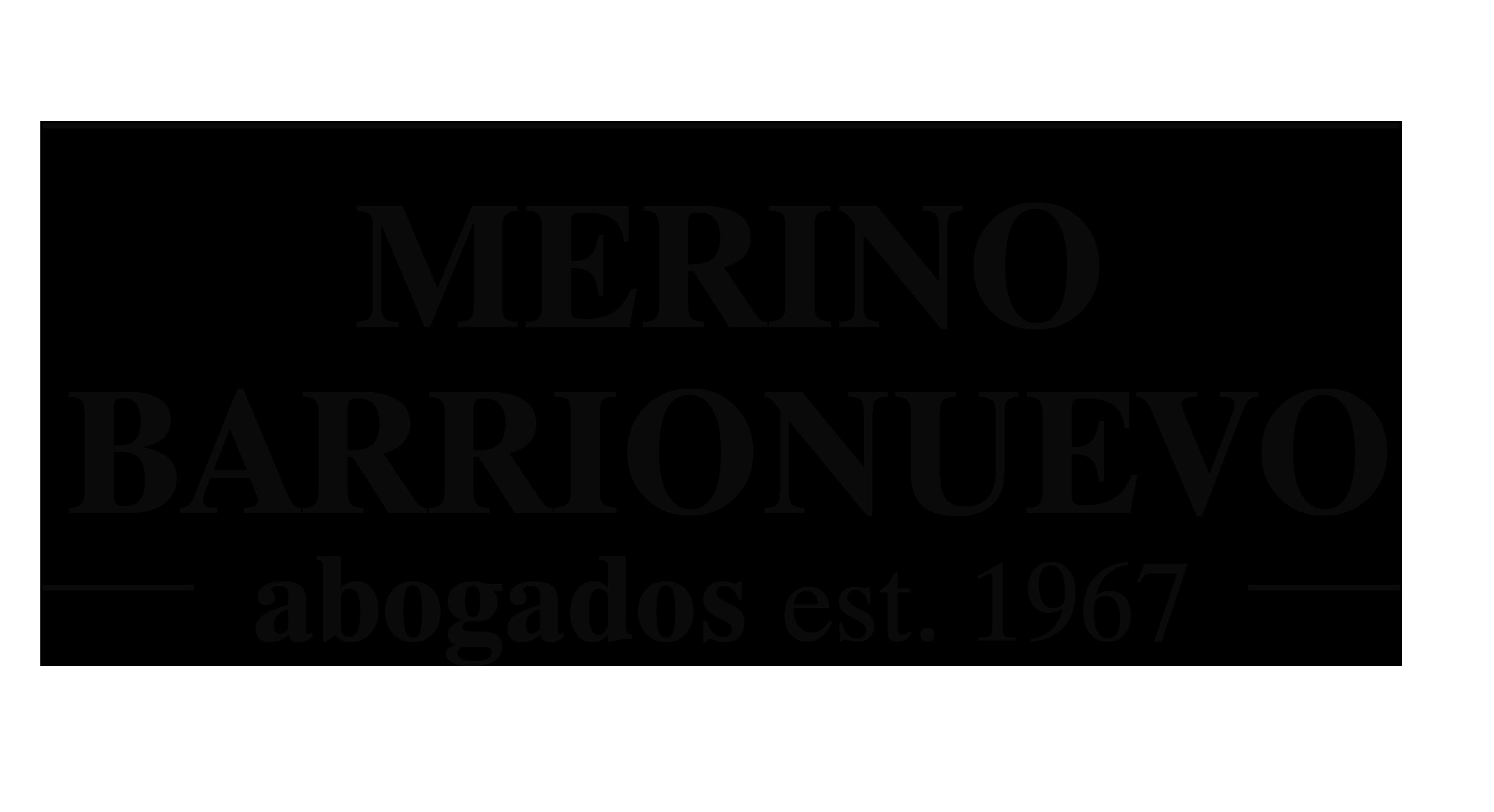 MERINO BARRIONUEVO - Abogados